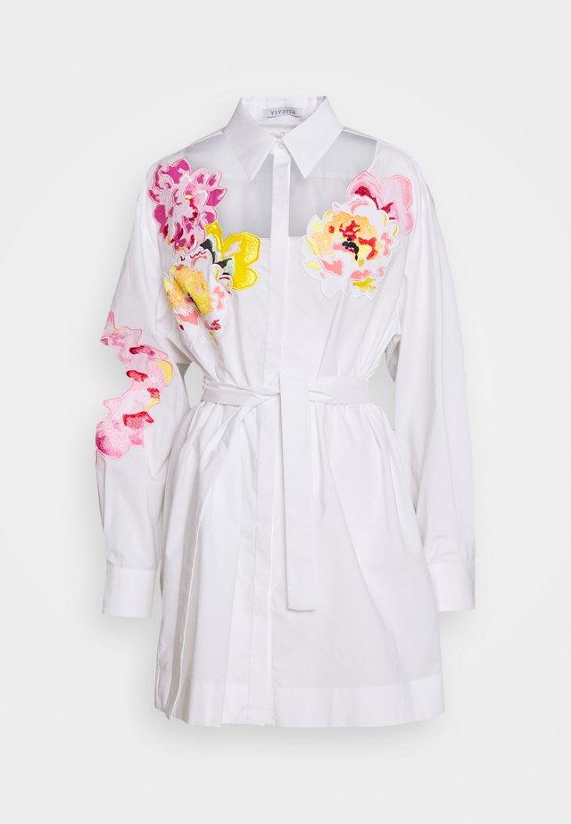 BLOUSES - Button-down blouse - white