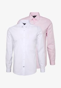 Burton Menswear London - 2 PACK - Formal shirt - pink - 4