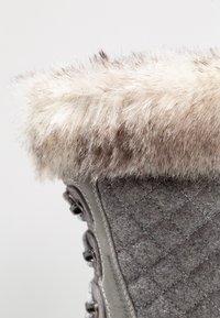 Helly Hansen - GARIBALDI - Vinterstøvler - light grey/alloy/nimbu - 5