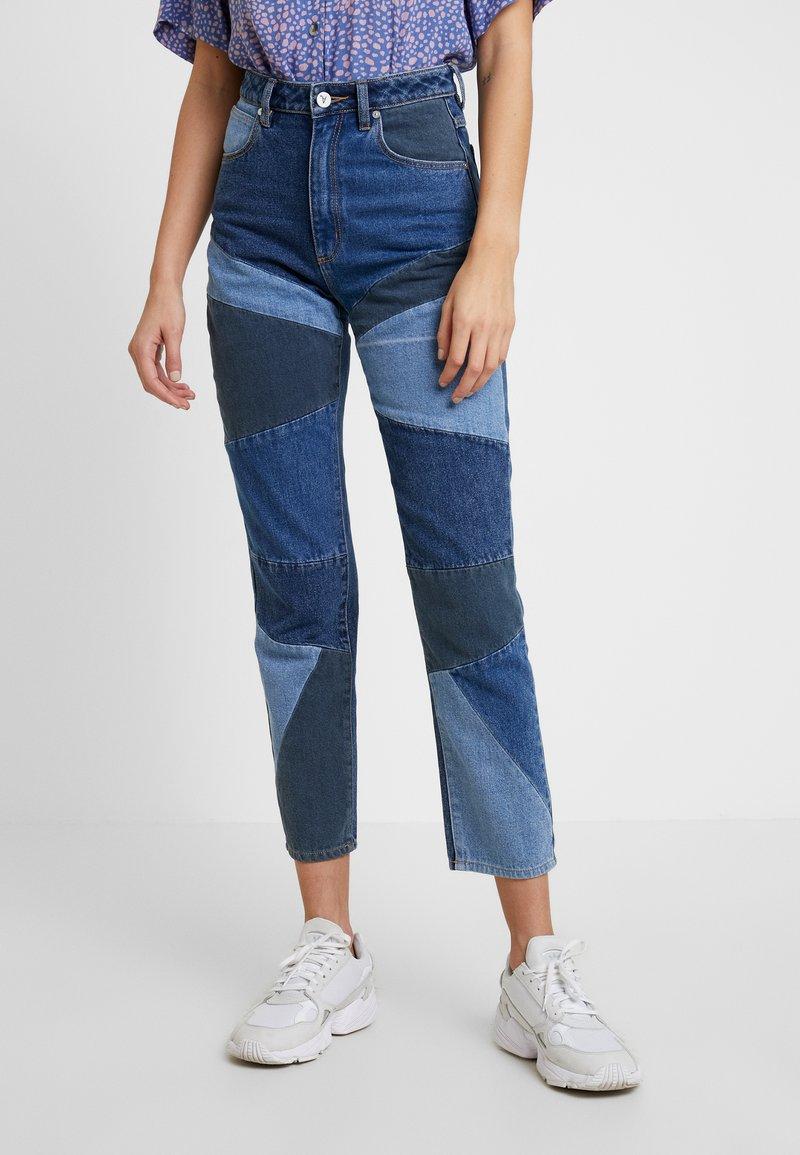 Abrand Jeans - A '94 HIGH  - Jeans Slim Fit - dark-blue denim