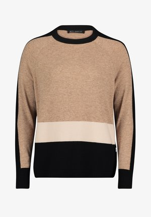 Jumper - camel/black