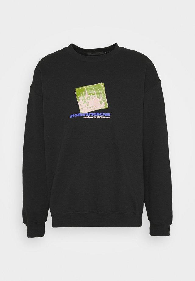 MENNACE SAKURA DREAMS - Sweatshirts - black