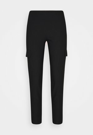 NMPERA - Cargo trousers - black