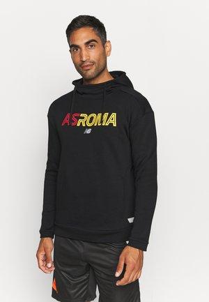 AS ROMA OVERHEAD HOODY - Collegepaita - black