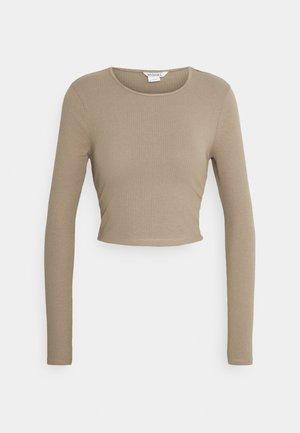 LINN - Long sleeved top - mole medium dusty