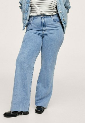 NORA - Relaxed fit jeans - mittelblau