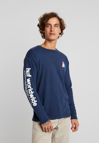 HUF - PRISM TEE - Long sleeved top - insignia blue - 0