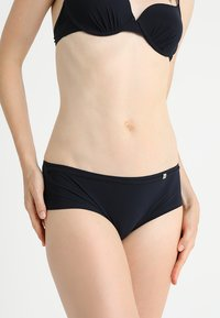 Marc O'Polo - PANTY SOLIDS - Bikini bottoms - blueblack - 0