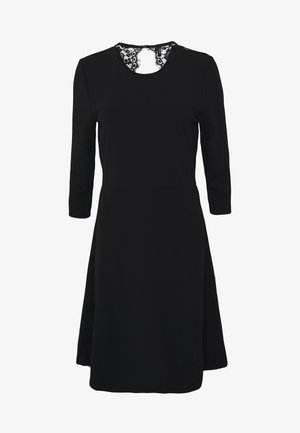 VMOLIVIA SHORT DRESS - Jersey dress - black