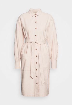 SLFMALVINA TONIA DRESS - Shirt dress - sandshell