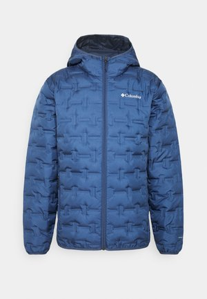 DELTA RIDGE HOODED JACKET - Gewatteerde jas - night tide