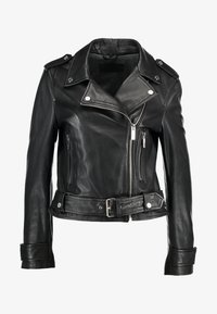 Oakwood - SHOW - Veste en cuir - black - 4