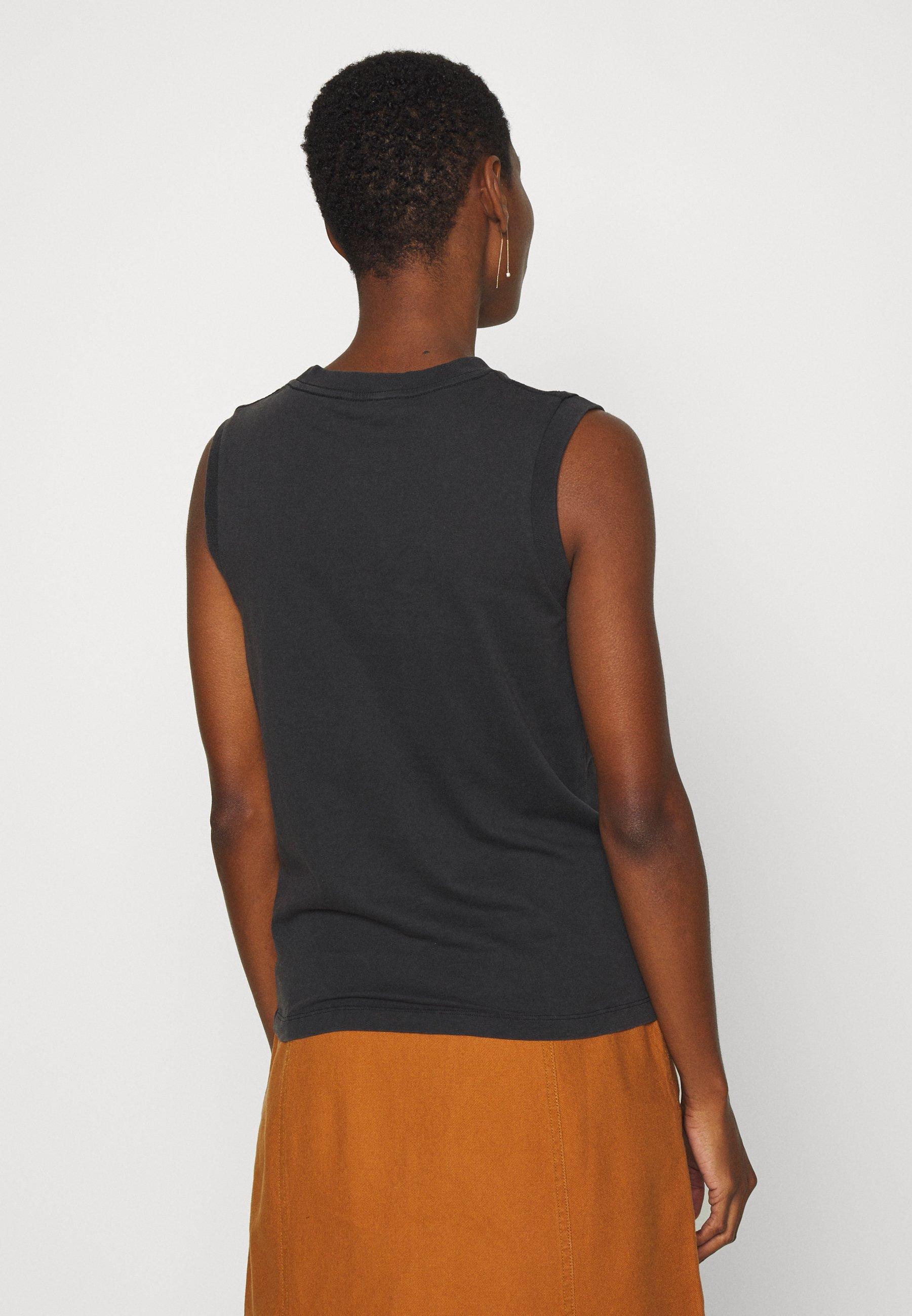 AllSaints PRIDE IMMY TANK - Débardeur - black - Tops & T-shirts Femme H0V3T