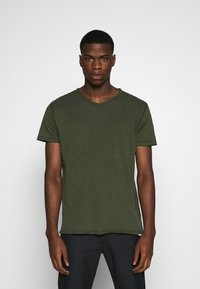 Gabba - MARCEL TEE  - Basic T-shirt - khaki - 0