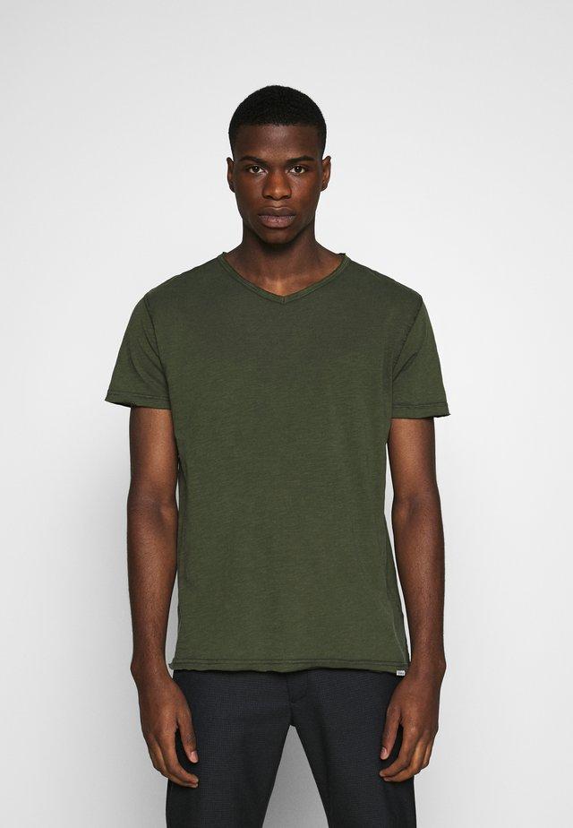 MARCEL TEE  - Basic T-shirt - khaki
