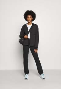 Weekday - WIRE ALMOST  - Straight leg jeans - almost black - 1