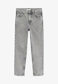 Mango - MOM - Jeans Straight Leg - grijs denim - 0