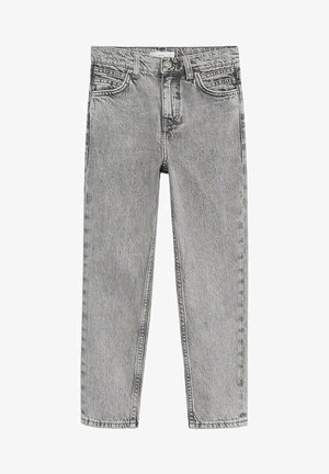 MOM - Jeans Straight Leg - grijs denim