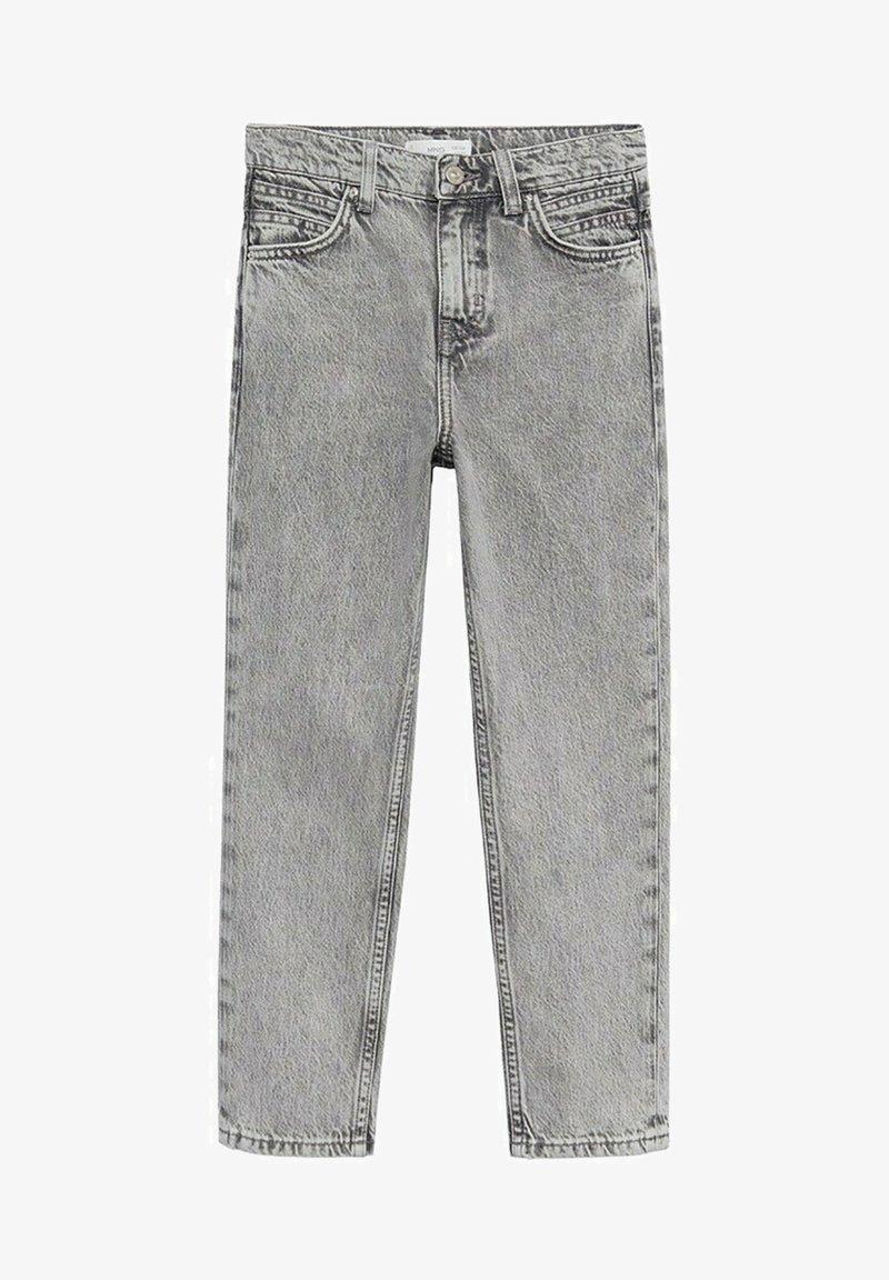 Mango - MOM - Jeans Straight Leg - grijs denim