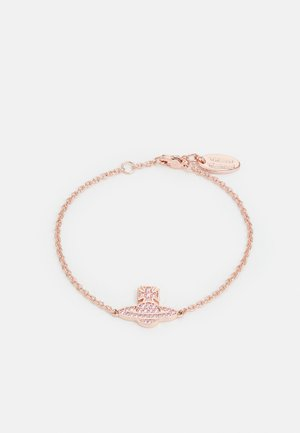 ROMINA PAVE ORB BRACELET - Bracelet - pink gold-coloured/pink