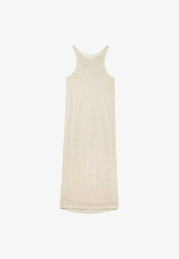 Robe fourreau - white