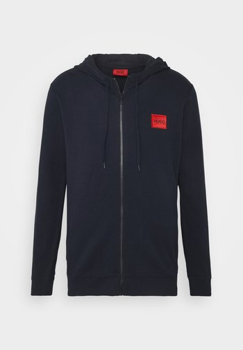 DAPLE - Zip-up sweatshirt - dark blue