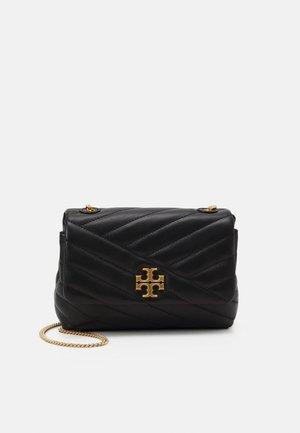 KIRA CHEVRON MINI BAG - Across body bag - black