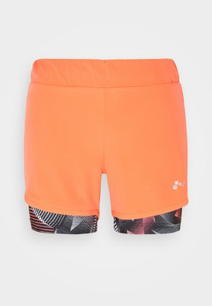 ONPJUDIE LOOSE TRAIN 2IN1 - Shorts - fiery coral/fiery coral