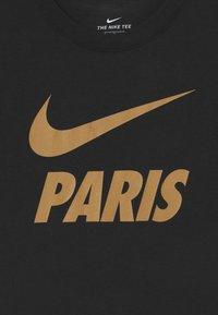 Nike Performance - PARIS ST GERMAIN TEE GROUND - Club wear - black - 2