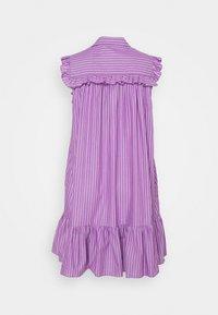 Vivetta - DRESS - Korte jurk - rigato viola/bianco - 1