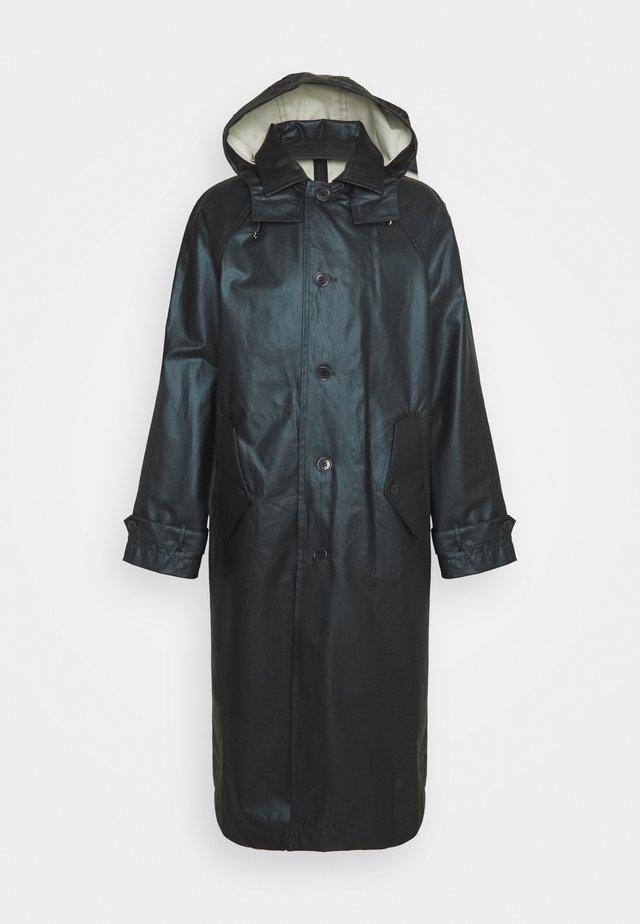 WINDSOR RAIN - Vodotěsná bunda - metal