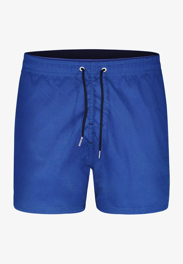 Swimming shorts - solid mid blue