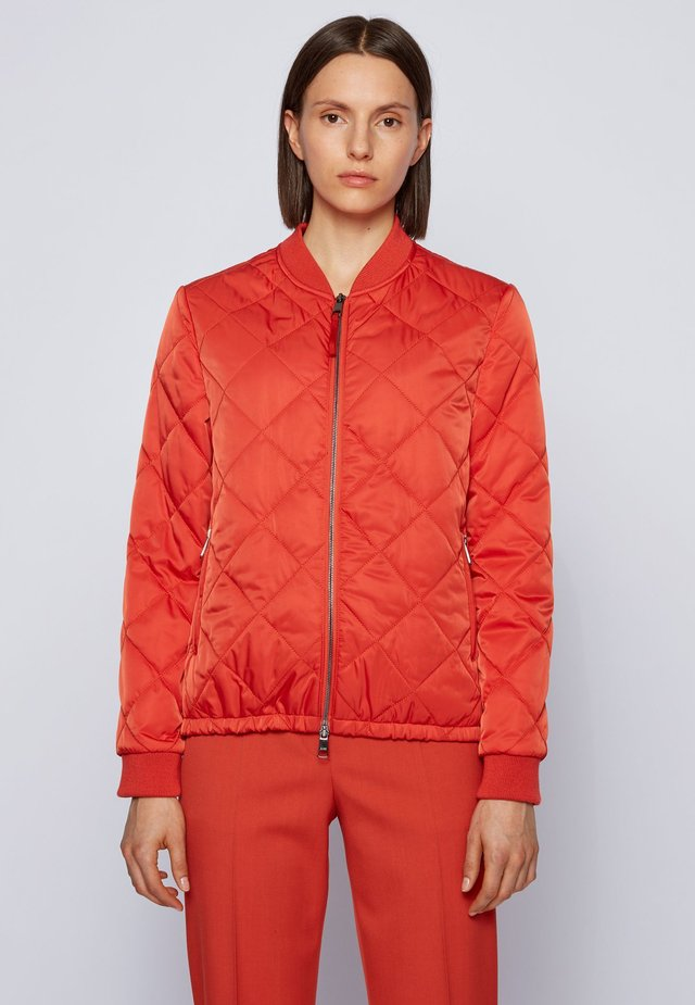 Bomber Jacket - dark orange