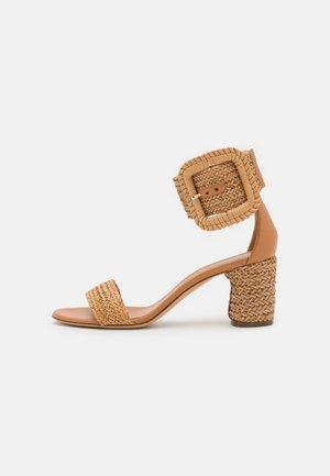 Varrelliset sandaalit - hanoi florence/natur