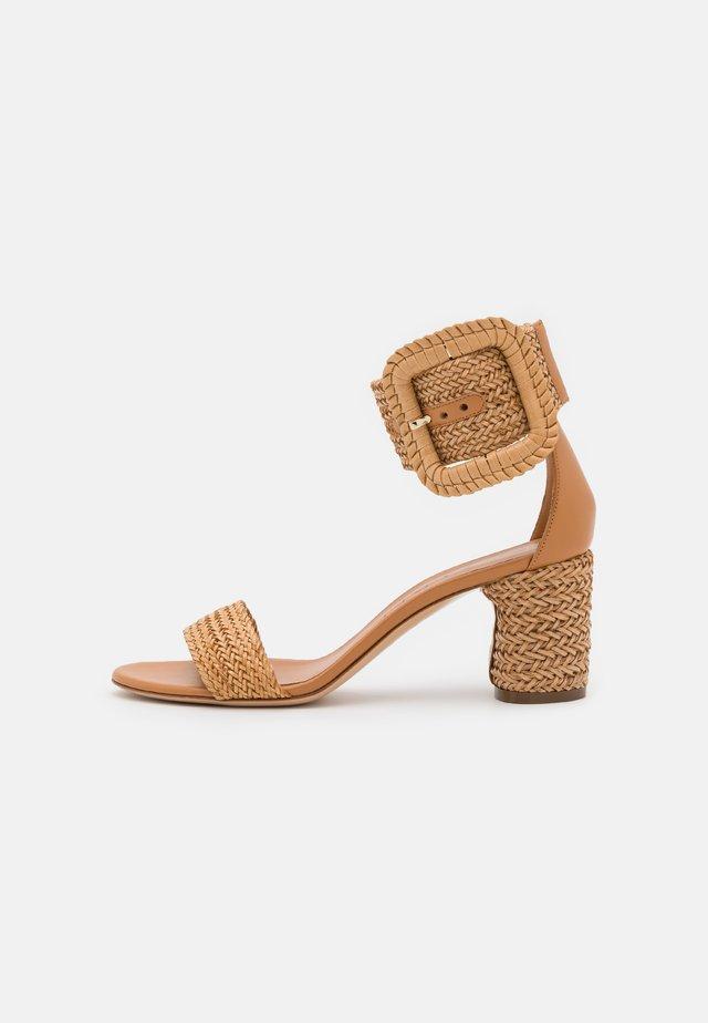 Sandalen met enkelbandjes - hanoi florence/natur