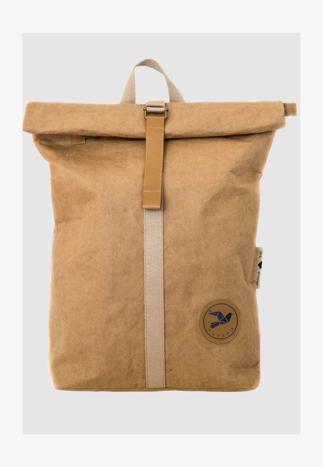 Backpack - hellbraun