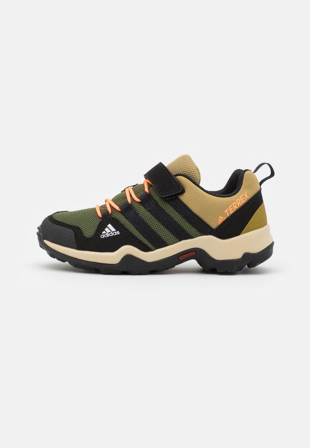 TERREX AX2R UNISEX - Hiking shoes - wild pine/core black/screaming orange