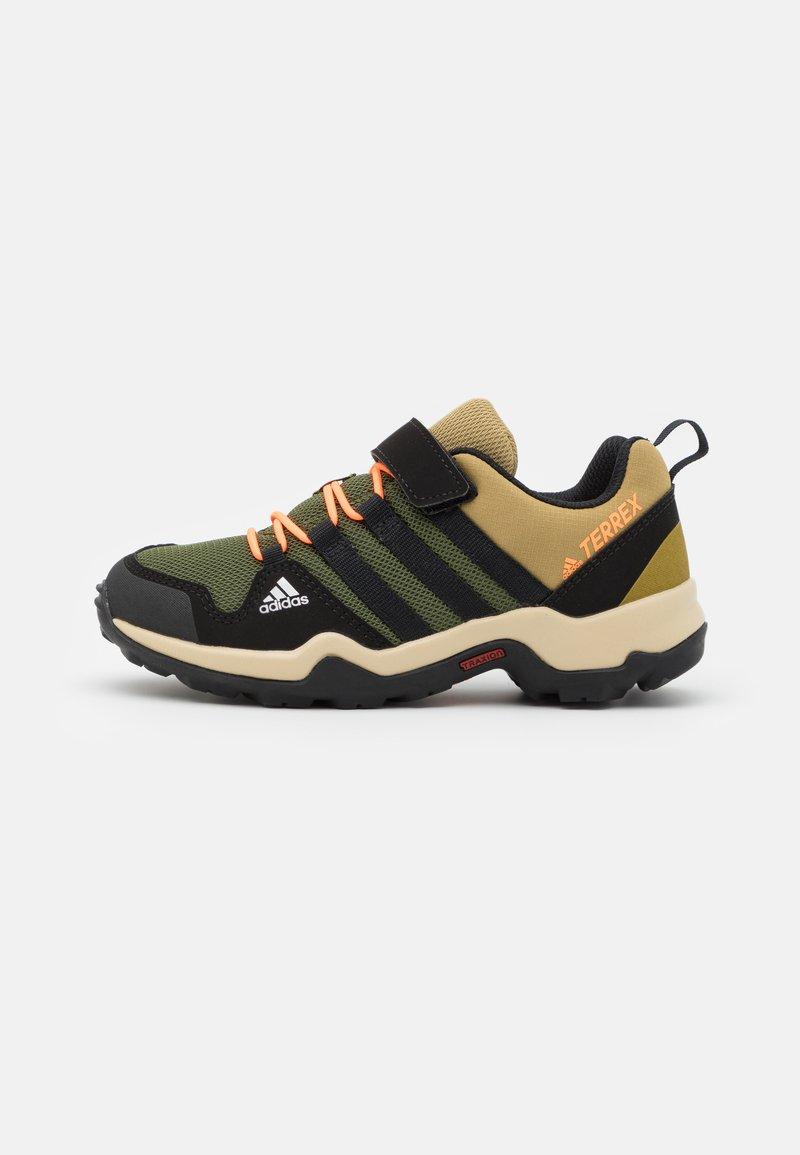 adidas Performance - TERREX AX2R UNISEX - Hiking shoes - wild pine/core black/screaming orange