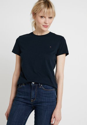 HERITAGE CREW NECK TEE - T-shirt basique - sky captain