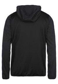 Umbro - Zip-up hoodie - black / ice green - 1