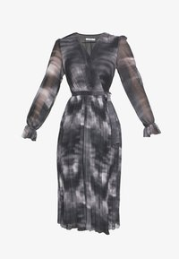 NA-KD - TIE DYE MIDI PLEATED DRESS - Denní šaty - black - 4