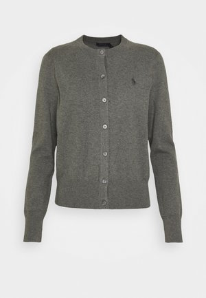 CARDIGAN LONG SLEEVE - Kardigan - antique heather