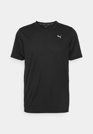 PERFORMANCE TEE - T-shirts basic - black