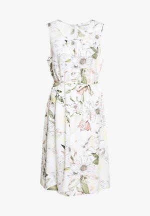 Day dress - white/khaki