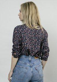 Brava Fabrics - KOKESHI - Button-down blouse - blue - 2