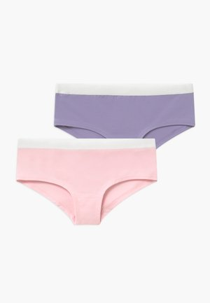 GIRLS 2 PACK - Kalhotky - purple/light pink