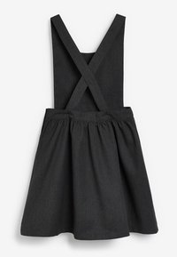 Next - BOW PINAFORE  - Day dress - grey - 1