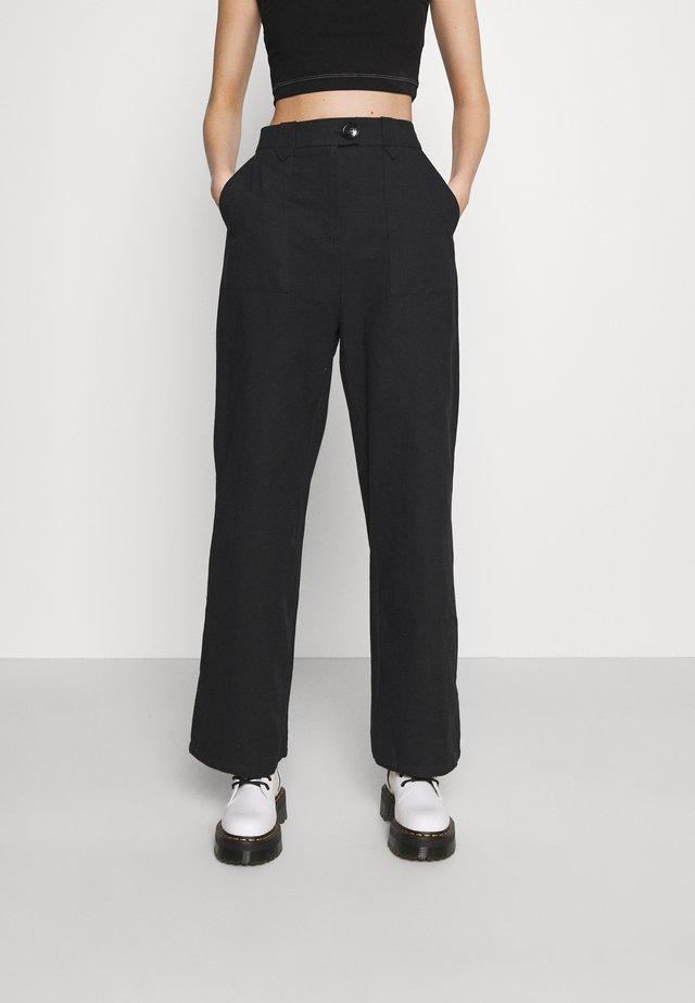 LOUELLE TROUSER - Trousers - black