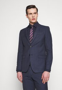 Limehaus - CHECK SUIT - Oblek - navy - 2