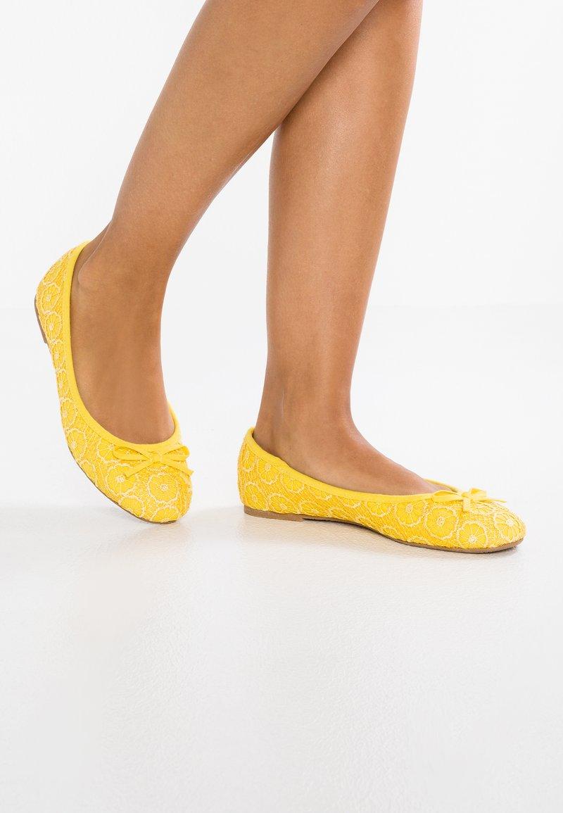 Anna Field - Ballet pumps - yellow